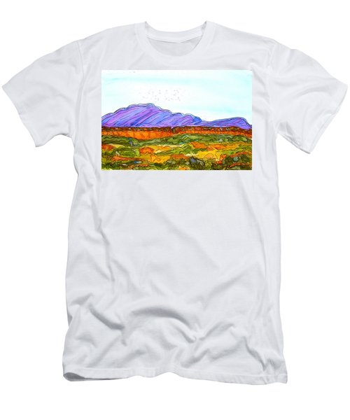 Hills That Nourish Men's T-Shirt (Athletic Fit)