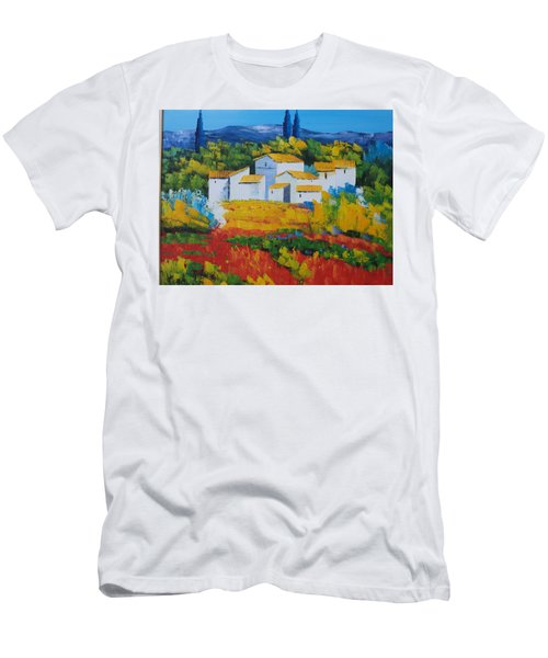 Hilltop Village Men's T-Shirt (Athletic Fit)