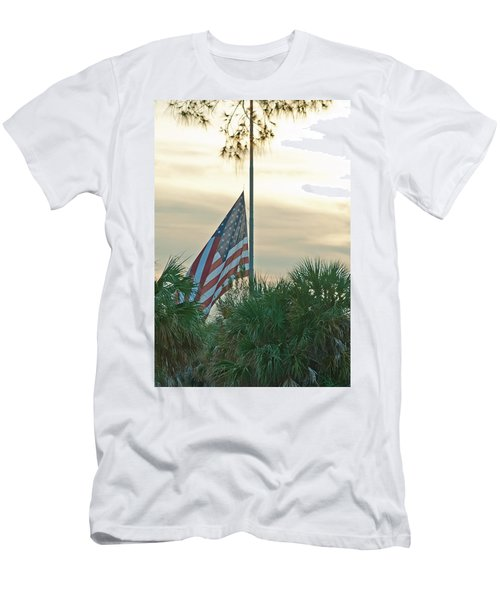 Honoring A Hero Men's T-Shirt (Slim Fit) by John Black