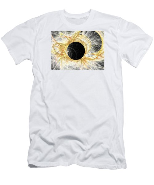 Men's T-Shirt (Slim Fit) featuring the digital art Horizon by Kim Sy Ok