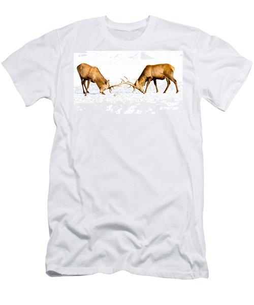 Horns A Plenty Men's T-Shirt (Slim Fit) by Cheryl Baxter
