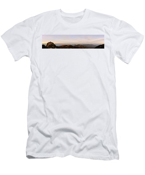 Huangshan Sunrise Panorama 2 Men's T-Shirt (Athletic Fit)