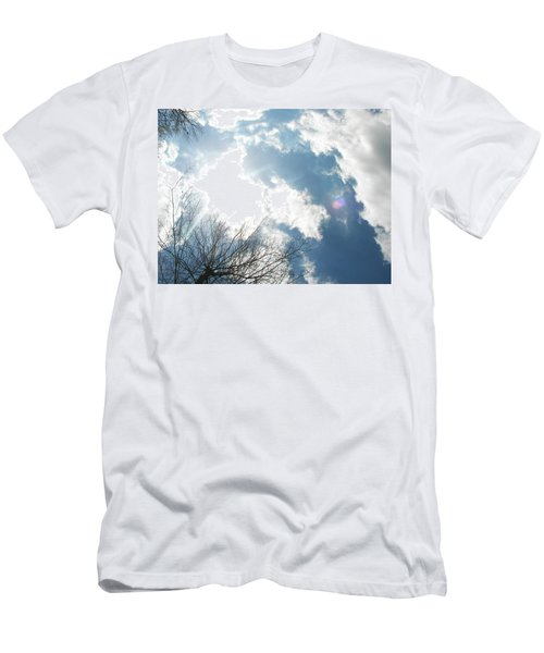 Men's T-Shirt (Slim Fit) featuring the photograph Imagination by Pamela Hyde Wilson