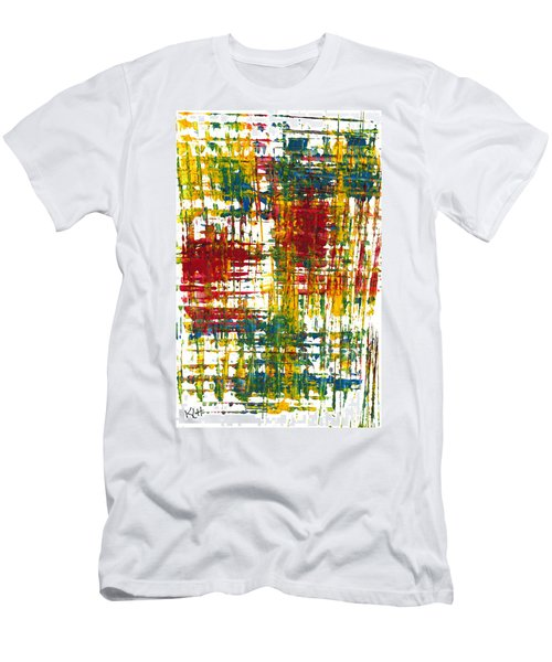 Inside My Garden 161.110411 Men's T-Shirt (Slim Fit) by Kris Haas
