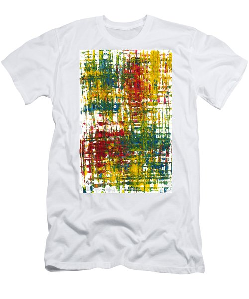 Inside My Garden II 162.110411  Men's T-Shirt (Slim Fit) by Kris Haas