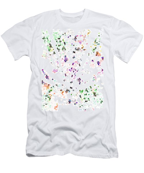 Men's T-Shirt (Slim Fit) featuring the digital art It's A Mad World  by Steve Taylor