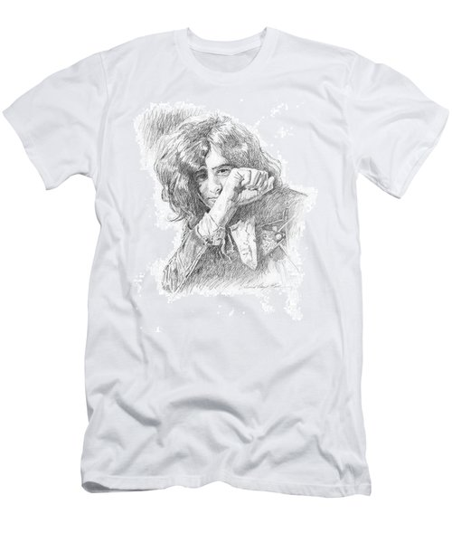 Jimmy Page In Person Men's T-Shirt (Athletic Fit)