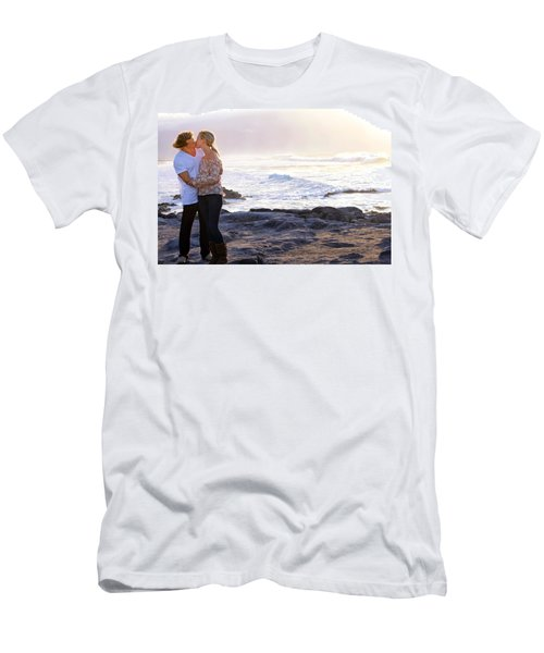 Kissed By The Ocean Men's T-Shirt (Athletic Fit)