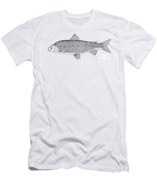 Lake Whitefish Men's T-Shirt (Athletic Fit)