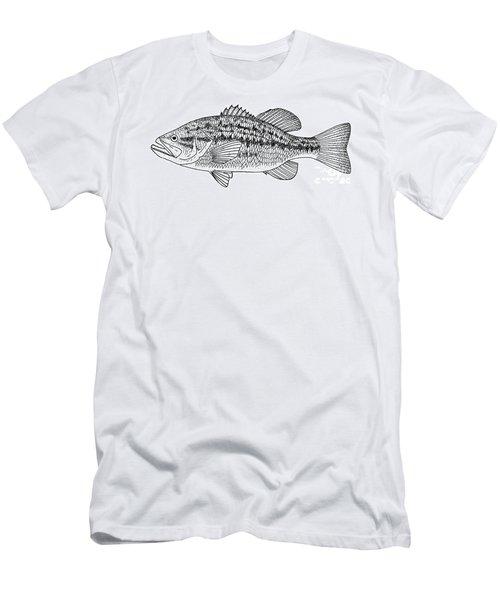 Largemouth Bass Men's T-Shirt (Athletic Fit)