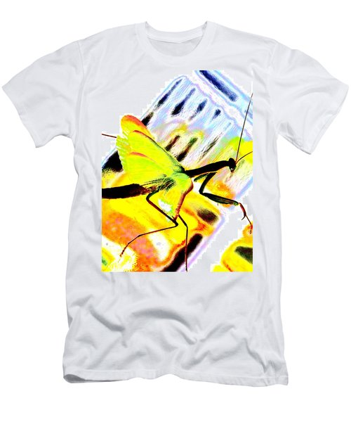 Men's T-Shirt (Slim Fit) featuring the photograph Mantis by Xn Tyler
