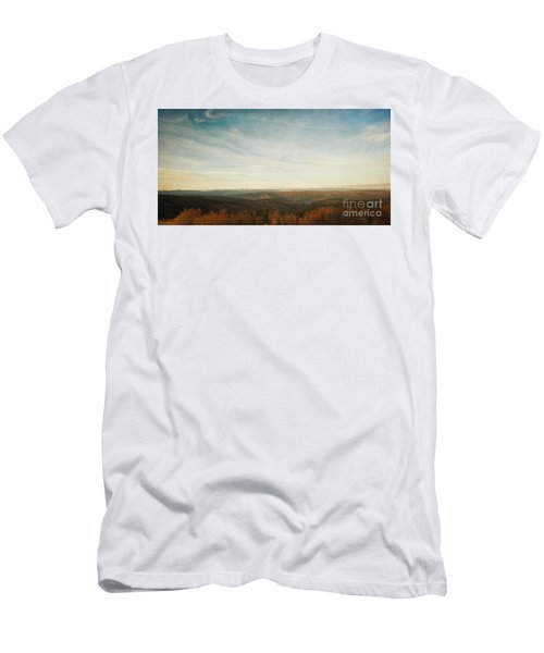 Mountains As Far As The Eye Can See Men's T-Shirt (Athletic Fit)