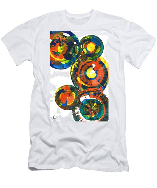 My Spheres Show Happiness  864.121811 Men's T-Shirt (Slim Fit) by Kris Haas