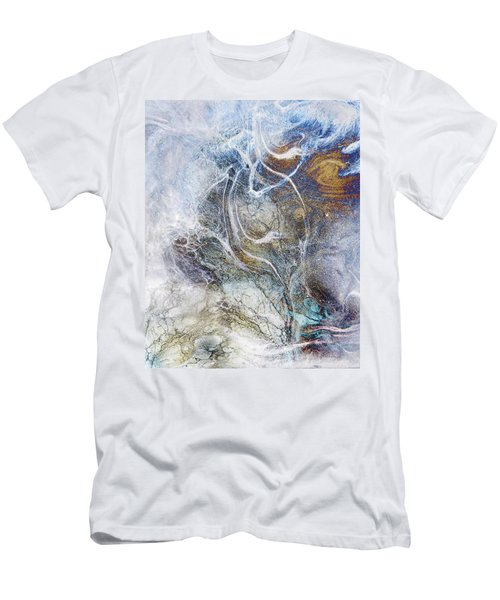 Night Blizzard Men's T-Shirt (Athletic Fit)