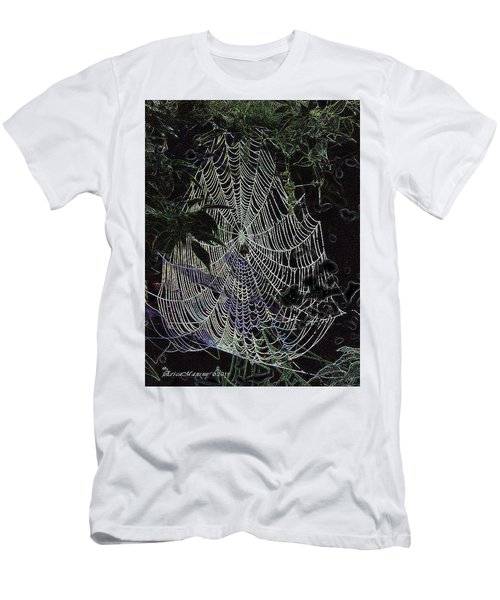 Night Lines Men's T-Shirt (Slim Fit) by EricaMaxine  Price