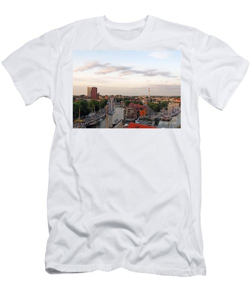 Old Town Klaipeda. Lithuania. Men's T-Shirt (Slim Fit) by Ausra Huntington nee Paulauskaite