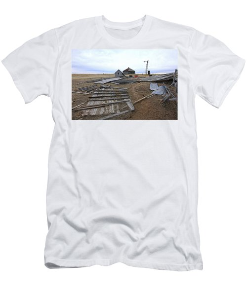 Once There Was A Farm Men's T-Shirt (Slim Fit) by James Steele