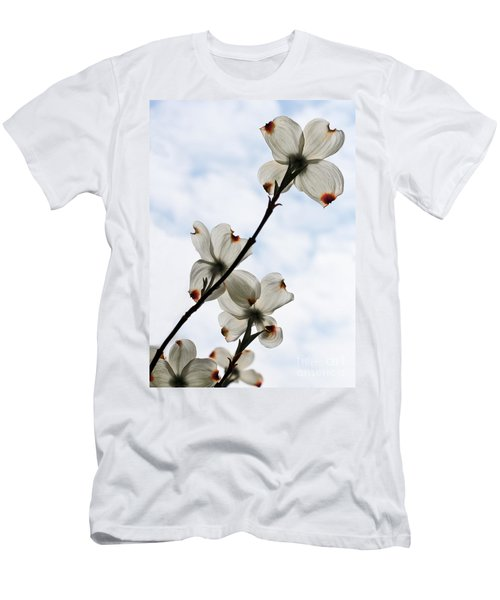 Men's T-Shirt (Slim Fit) featuring the photograph Only Once A Year by Barbara McMahon