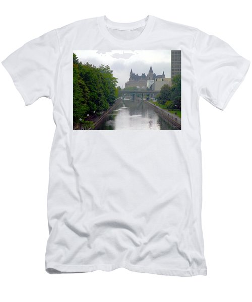 Ottawa Rideau Canal Men's T-Shirt (Athletic Fit)