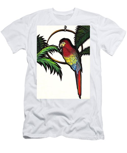 Parrot Shadows Men's T-Shirt (Athletic Fit)