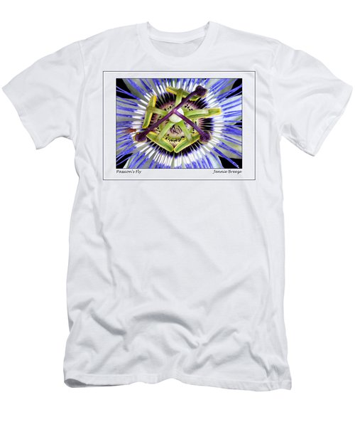 Men's T-Shirt (Slim Fit) featuring the photograph Passion's Fly by Jennie Breeze