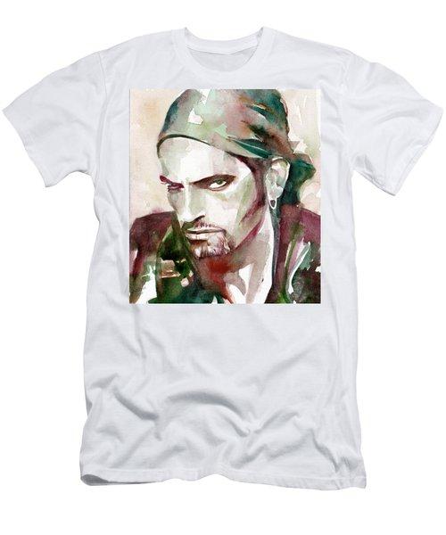 Peter Steele Portrait.6 Men's T-Shirt (Athletic Fit)