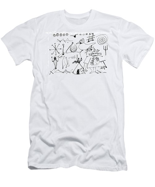 Petroglyph 1 Men's T-Shirt (Athletic Fit)