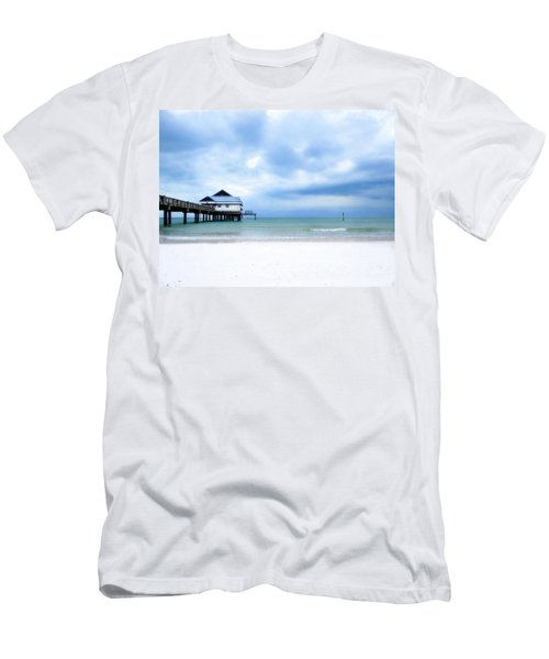 Pier 60 At Clearwater Beach Florida Men's T-Shirt (Athletic Fit)