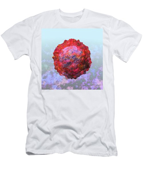 Polio Virus Particle Or Virion Poliovirus 2 Men's T-Shirt (Athletic Fit)