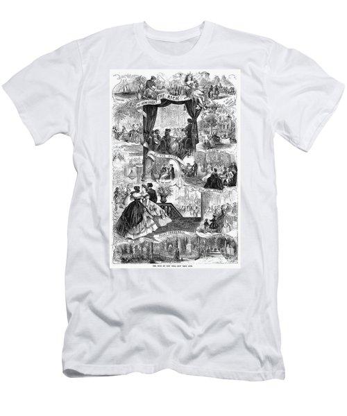 Poor New York, 1865 Men's T-Shirt (Athletic Fit)