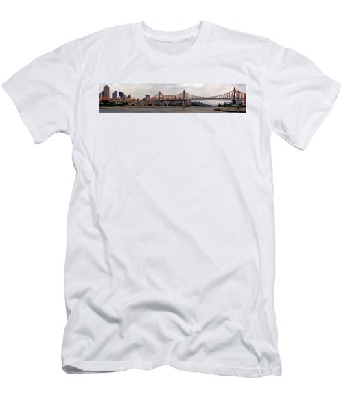 Queensboro Bridge Men's T-Shirt (Athletic Fit)