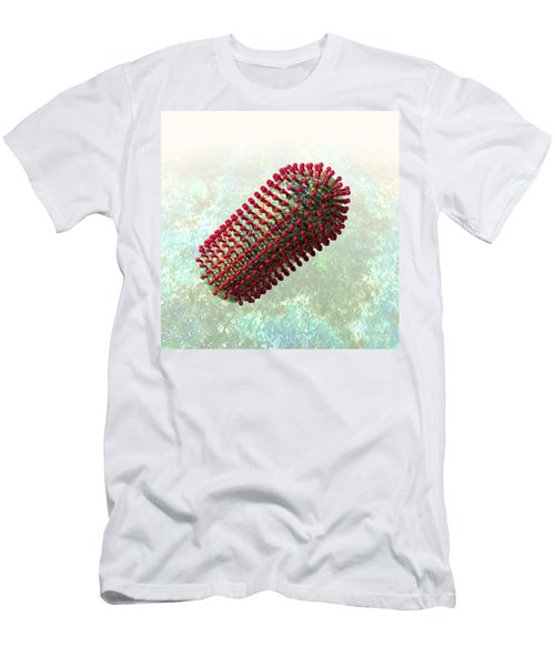 Rabies Virus 2 Men's T-Shirt (Athletic Fit)