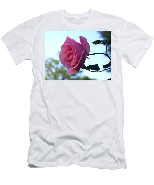 Men's T-Shirt (Slim Fit) featuring the photograph Reaching For Sunlight by Kathy  White