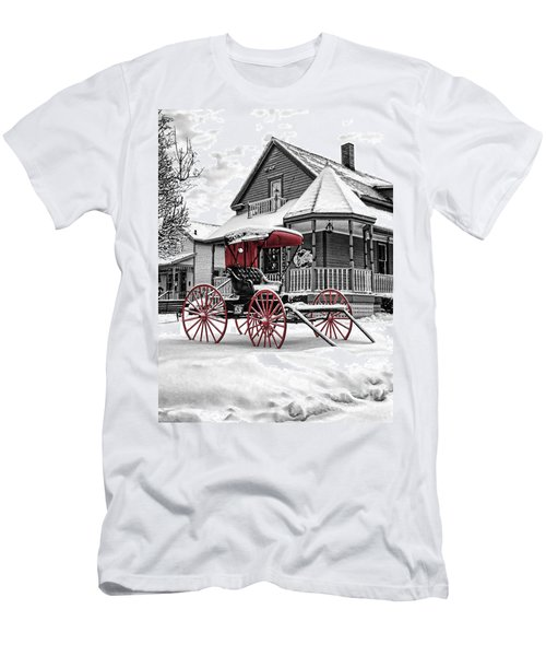 Red Buggy At Olmsted Falls - 2 Men's T-Shirt (Athletic Fit)