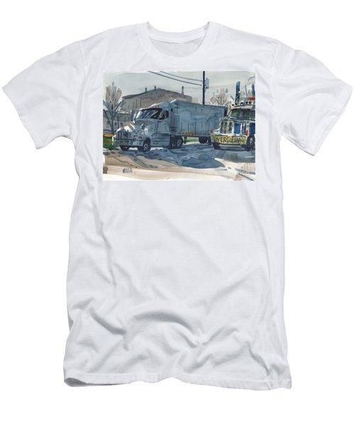 Resting Giants Men's T-Shirt (Athletic Fit)