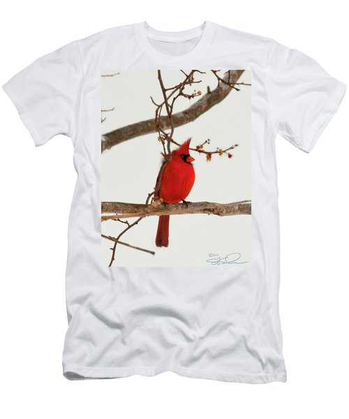 Righteous Cardinal Men's T-Shirt (Athletic Fit)