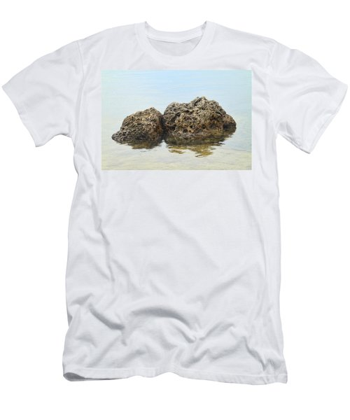 Rocks With Reflection Men's T-Shirt (Athletic Fit)