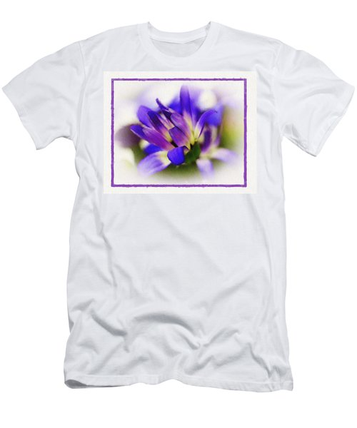 Men's T-Shirt (Slim Fit) featuring the photograph Royal Purple by Judi Bagwell