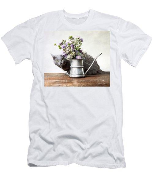 Russian Blue 03 Men's T-Shirt (Athletic Fit)