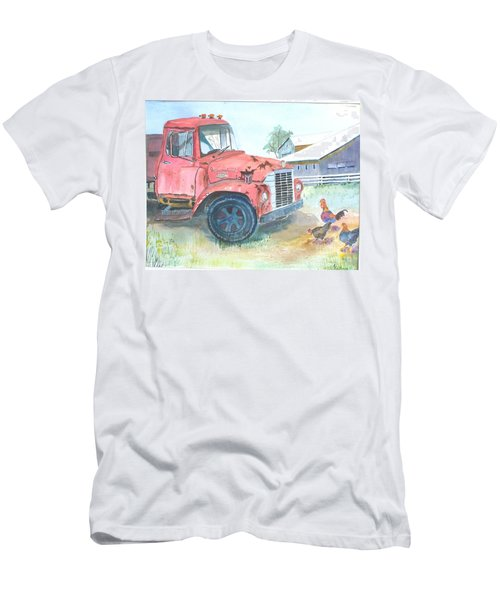 Rusty Truck Men's T-Shirt (Athletic Fit)