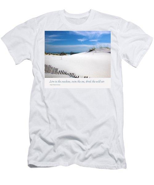 Sand Dunes Dream 3 Men's T-Shirt (Slim Fit) by Marie Hicks