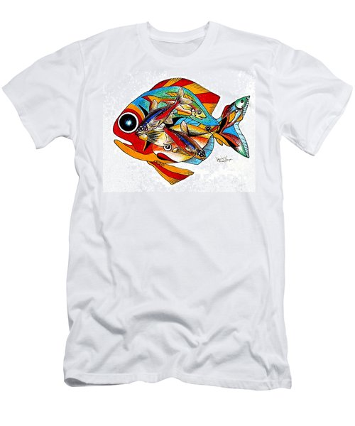 Seven Fish Men's T-Shirt (Athletic Fit)