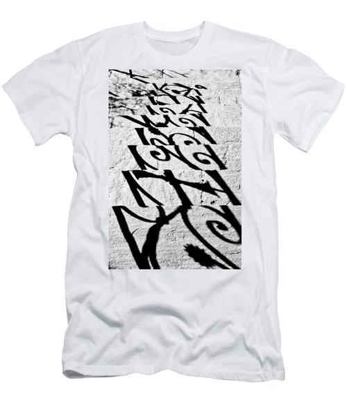 Shadow Of A Fence Men's T-Shirt (Athletic Fit)