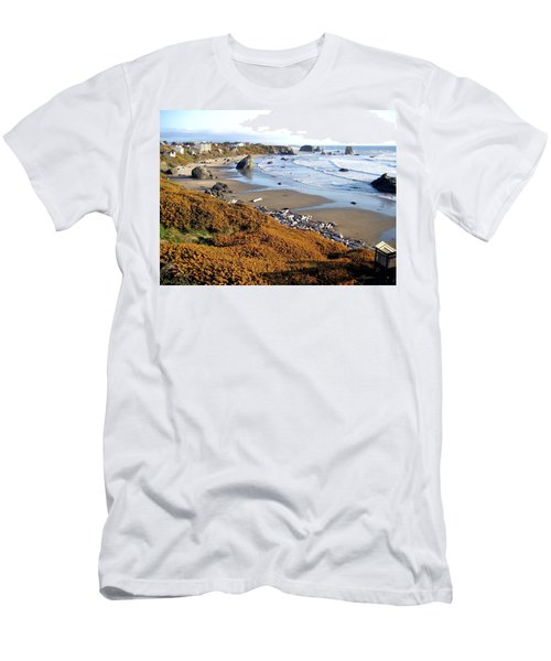 Men's T-Shirt (Athletic Fit) featuring the photograph Shores Of Oregon by Will Borden