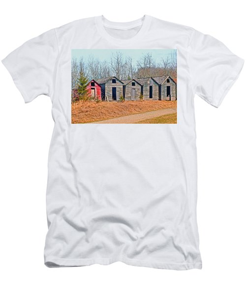 Smokehouse Row Men's T-Shirt (Athletic Fit)