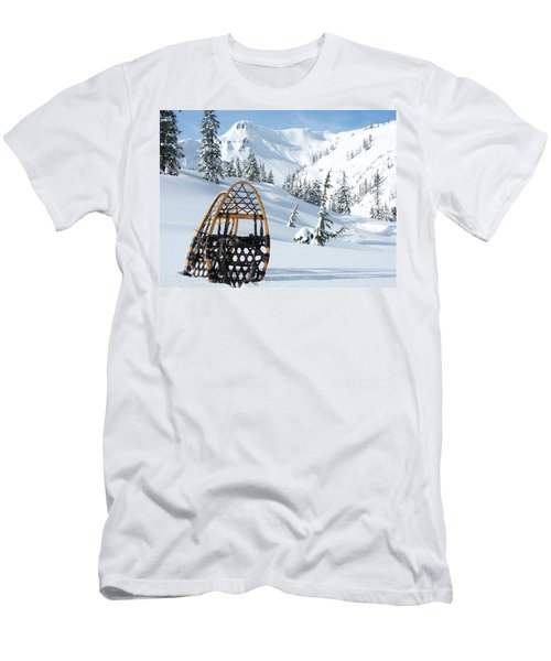 Snowshoeing Paradise Men's T-Shirt (Athletic Fit)