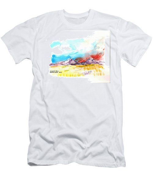 Spanish Peaks Study Men's T-Shirt (Athletic Fit)