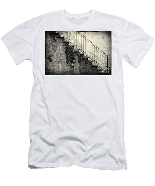 Stairs On A Rainy Day Men's T-Shirt (Athletic Fit)