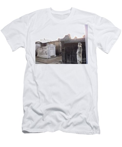 Men's T-Shirt (Slim Fit) featuring the photograph Standing Guard by Alys Caviness-Gober