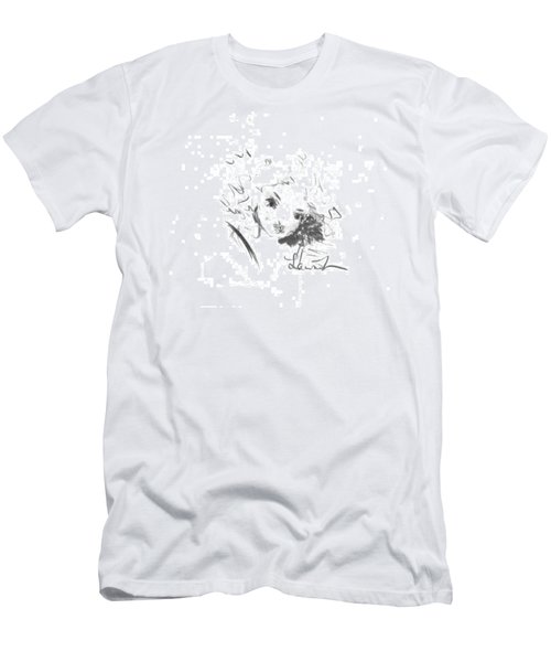 Men's T-Shirt (Athletic Fit) featuring the drawing Just Country by Laurie Lundquist